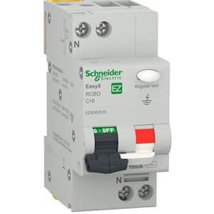 Siguranta automata diferentiala SCHNEIDER EZ9D62616, 1P + ND, 16A, curba C