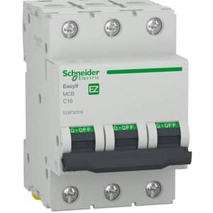 Siguranta automata modulara SCHNEIDER EZ9F32316, 3P, 16A, curba C