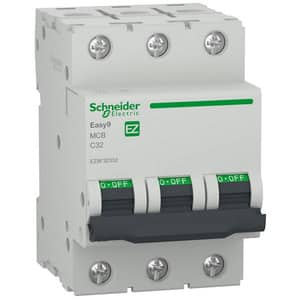Siguranta automata modulara SCHNEIDER EZ9F32332, 3P, 32A, curba C