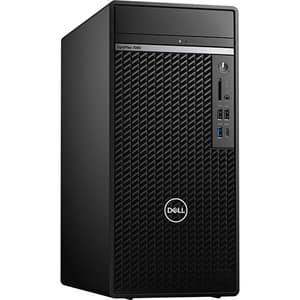 Sistem Desktop DELL OptiPlex 7080 Tower, Intel Core i7-10700 pana la 4.8GHz, 16GB, SSD 512GB, Intel UHD Graphics 630, Windows 10 Pro, negru