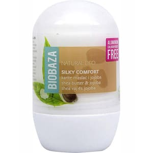 Deodorant roll-on BIOBAZA Silky Comfort, 50ml