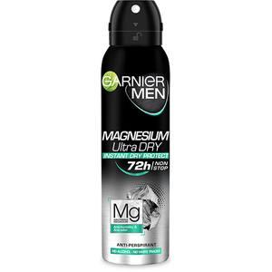 Deodorant antiperspirant spray GARNIER Men Mineral Magnesium Ultra Dry, 150ml