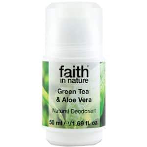 Deodorant roll-on FAITH IN NATURE Green Tea&Aloe Vera, 50ml