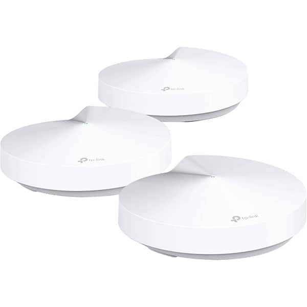Sistem Wireless Mesh Gigabit TP-LINK DECO M5, Dual-Band 400 + 867 Mbps, 3 Buc, alb