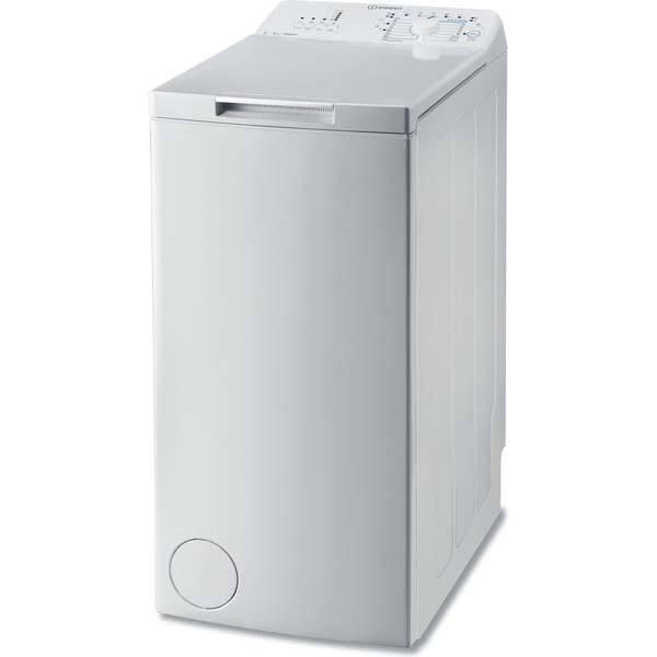 Masina de spalat rufe verticala INDESIT BTWA61053(EU), 6kg, 1000rpm, Clasa A+++, alb