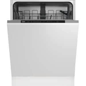 Masina de spalat vase incorporabila BEKO DIN34320, 13 seturi, 4 programe, 60 cm, Clasa A++, alb