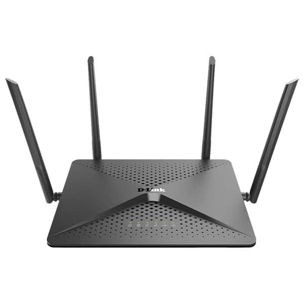Router Wireless Gigabit D-LINK DIR-882 EXO AC2600, Dual Band 800 + 1733 Mbps, USB 3.0, negru