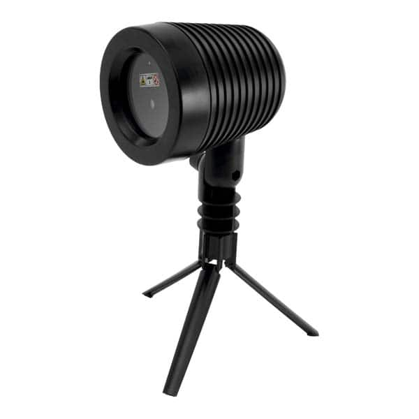 Proiector laser cu telecomanda HOME DL IP 3, 5W, IP44, negru
