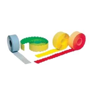 Etichete autoadezive pentru marcatoare ROMPRIX, galben, 26 x 12 mm, 1500 etichete/rola