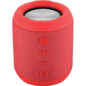 Boxa portabila PROMATE Bomba, Bluetooth, MicroSD, Waterproof, True Wireless, rosu