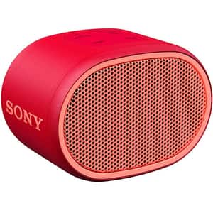 Boxa portabila SONY SRS-XB01R, Bluetooth, EXTRA BASS, Rezistenta la stropire, rosu