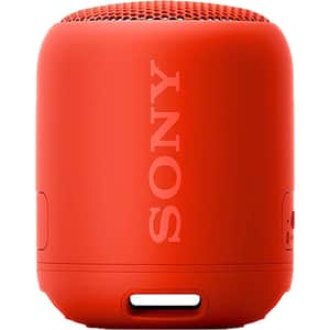 Boxa portabila SONY SRS-XB12, Bluetooth, Wireless, Extra Bass, Waterproof, rosu