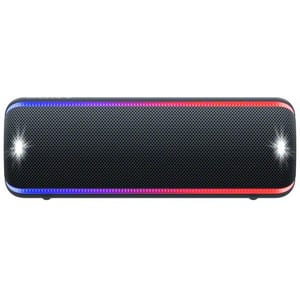 Boxa portabila SONY SRS-XB32, EXTRA BASS, Bluetooth, NFC, Wireless, Party Booster, Wireless Party Chain, LIVE SOUND, Waterproof, Negru