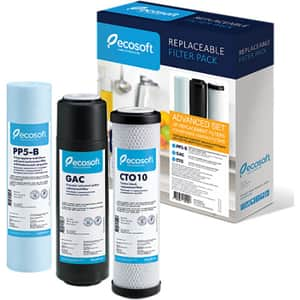 Set cartuse prefiltrate pentru sistem cu osmoza inversa ECOSOFT Pure Aquacalcium