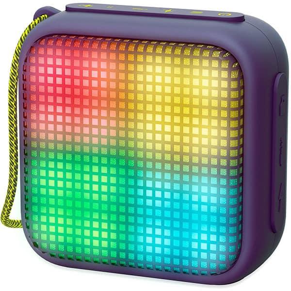 Boxa portabila ENERGY SISTEM Beat Box 2+ Litghtcube, ENS446834, Bluetooth, USB, microSD, Radio FM, LED, Amethyst