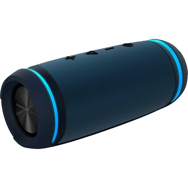 Boxa portabila ENERGY SISTEM Urban Box 7 Basstube, ENS447367, Bluetooth, microSD, Radio FM, True Wireless, Cobalt