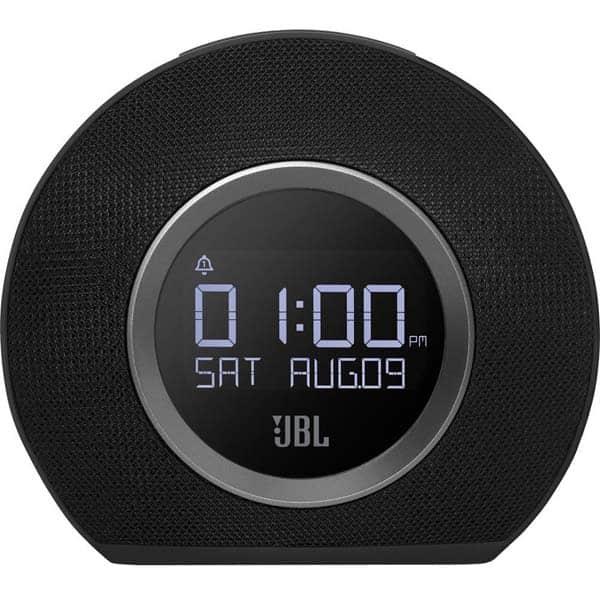 Radio cu ceas JBL Horizon, Bluetooth, Ceas, Powerbank, Radio FM, negru