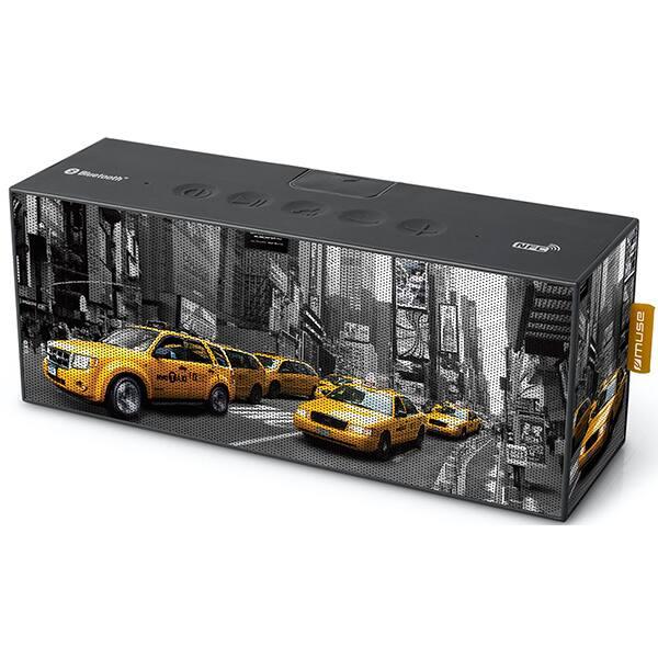 Boxa portabila MUSE M-720 NY New York, Bluetooth, NFC, Waterproof, Black