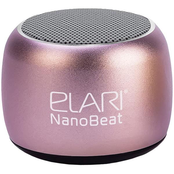 Boxa portabila ELARI NanoBeat, Bluetooth, roz