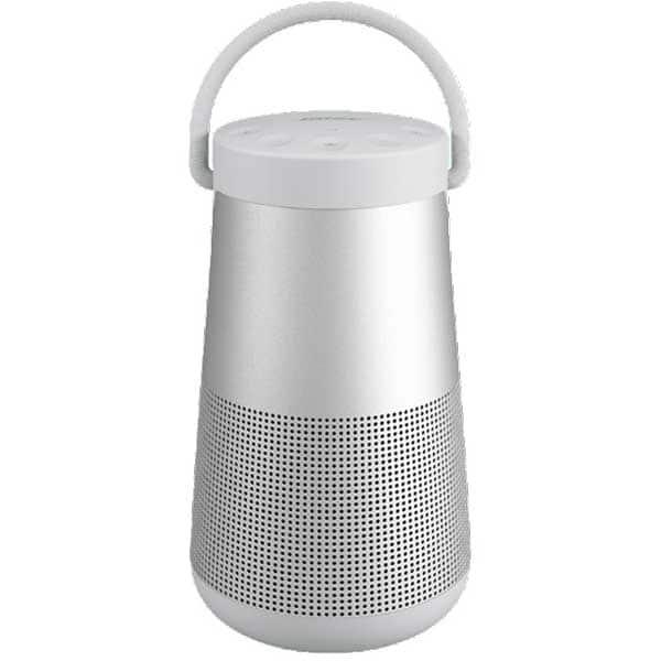 Boxa portabila BOSE Soundlink Revolve Plus, Bluetooth, Waterproof, Sunet 360, argintiu