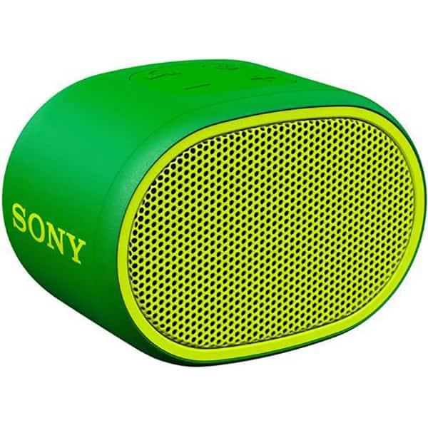 Boxa portabila SONY SRS-XB01G, Bluetooth, EXTRA BASS, Rezistenta la stropire, verde