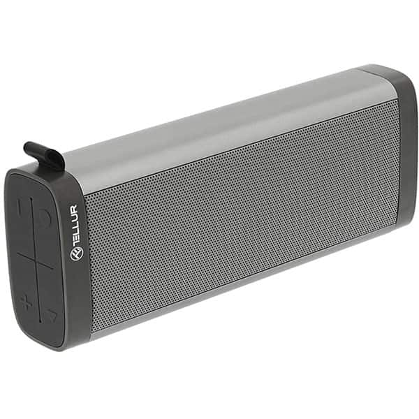 Boxa portabila TELLUR Selene TLL161071, Bluetooth, Radio FM, MicroSD, Gri