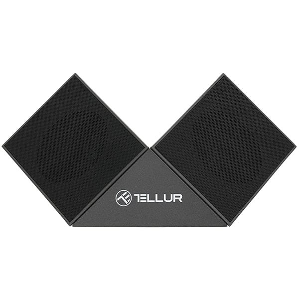 Boxa Bluetooth TELLUR Nyx TLL161131, Bluetooth, MicroSD, gri