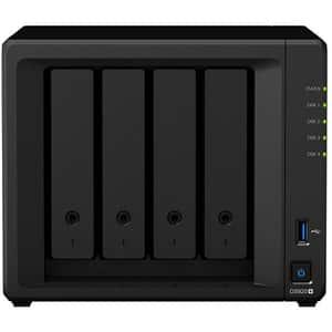 Network Attached Storage SYNOLOGY DiskStation DS920+, 2.0GHz, 4GB, 4 Bays, negru