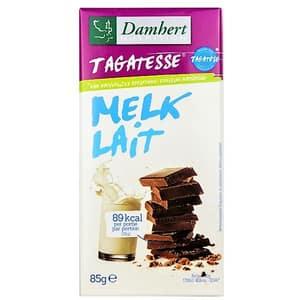 Ciocolata cu lapte DAMHERT Melk Lait, 85g, 3 bucati