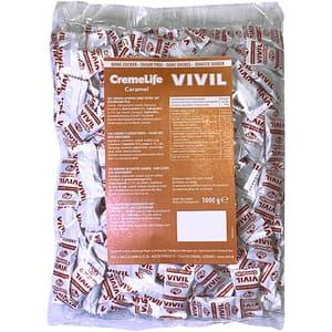 Drajeuri VIVIL Creme Life caramel fara zahar, 1kg