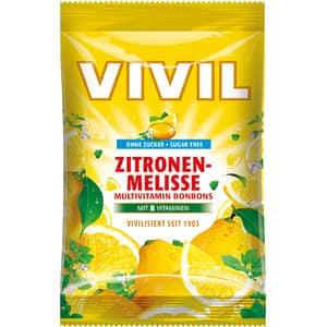 Drajeuri VIVIL Multivitamine lamaie fara zahar, 60g, 6 bucati