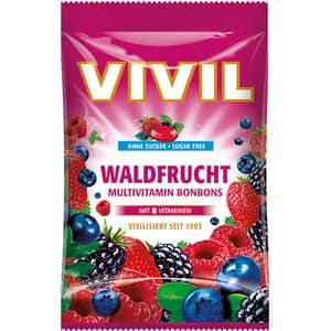 Drajeuri VIVIL Multivitamine fructe de padure, 60g, 6 bucati