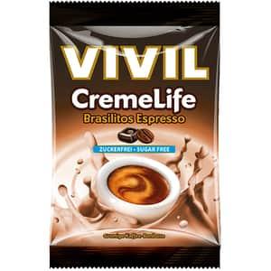 Drajeuri VIVIL Creme Life brasilitos espresso, 110g, 4 bucati