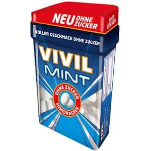 Minidrajeuri VIVIL menta, 49g, 4 bucati