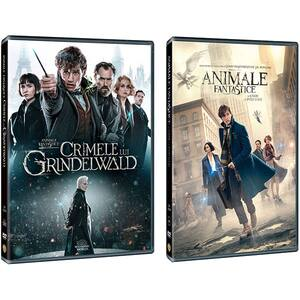 Pachet Animale Fantastice 1 + 2 DVD