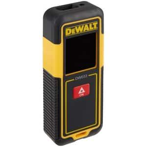 Telemetru laser DEWALT DW033, Distanta 30m, negru-galben