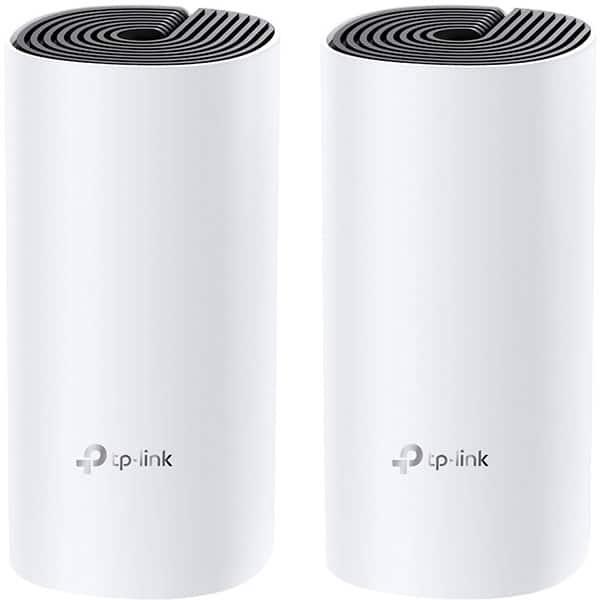 Sistem Wireless Mesh TP-LINK Deco M4 AC1200, Dual Band 300 + 867 Mbps, 2 buc, alb
