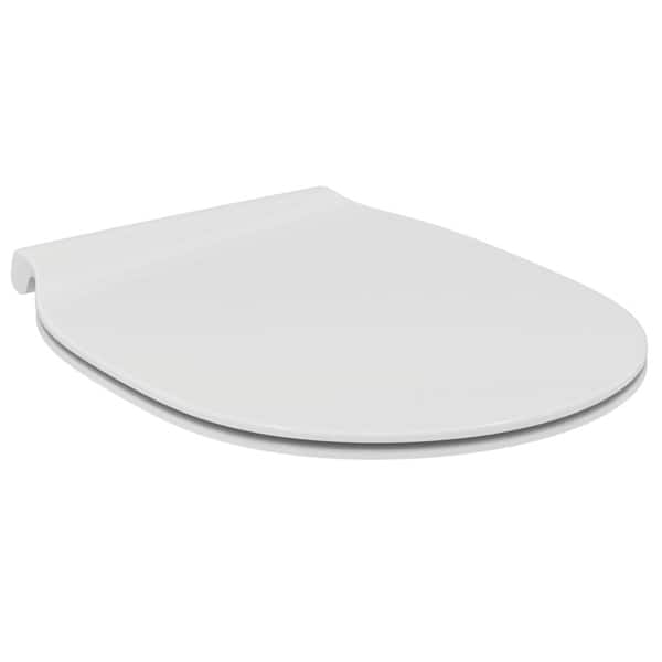 Capac WC IDEAL STANDARD Connect Air E036501, duroplast, alb