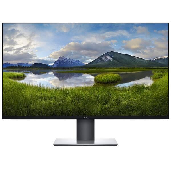 """Monitor LED IPS DELL UltraSharp U3219Q, 31.5"""", Ultra HD 4K, negru-argintiu"""