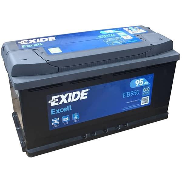 Baterie auto EXIDE Excell, 12V, 95Ah, 800A