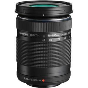 Obiectiv foto OLYMPUS M.ZUIKO Digital ED 40‑150 mm F4‑5.6 R, negru
