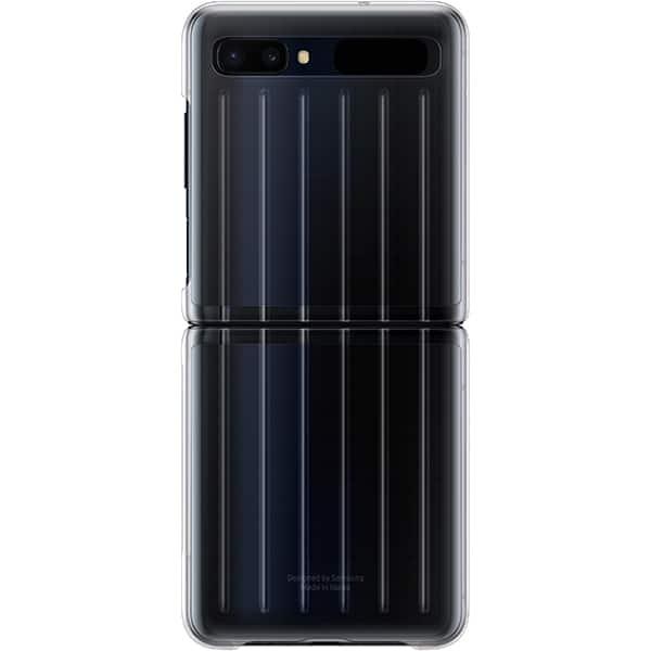Carcasa pentru SAMSUNG Galaxy Z Flip, EF-QF707CTEGEU, transparent