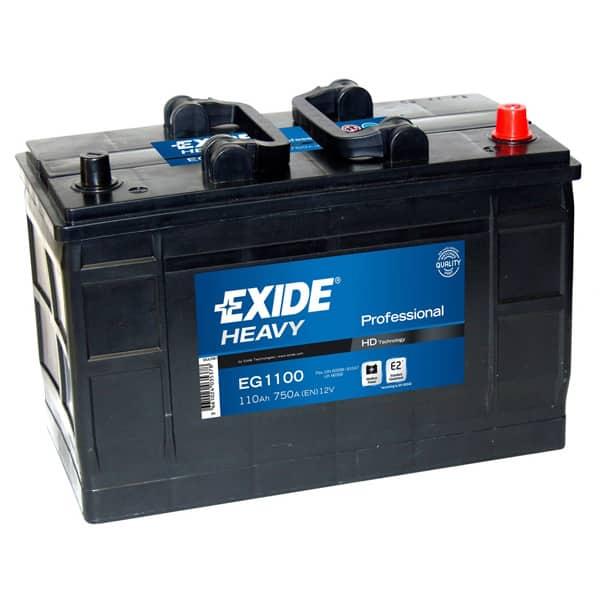 Baterie auto EXIDE Professional, 12V, 110Ah, 750A