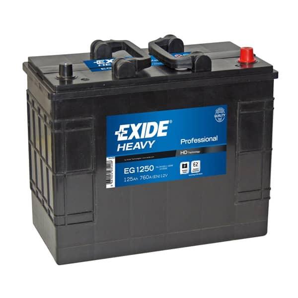 Baterie auto EXIDE Professional, 12V, 125Ah, 760A