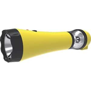 Lanterna LED reincarcabila TOTAL GREEN EL0027872, 5 LED-uri, galben