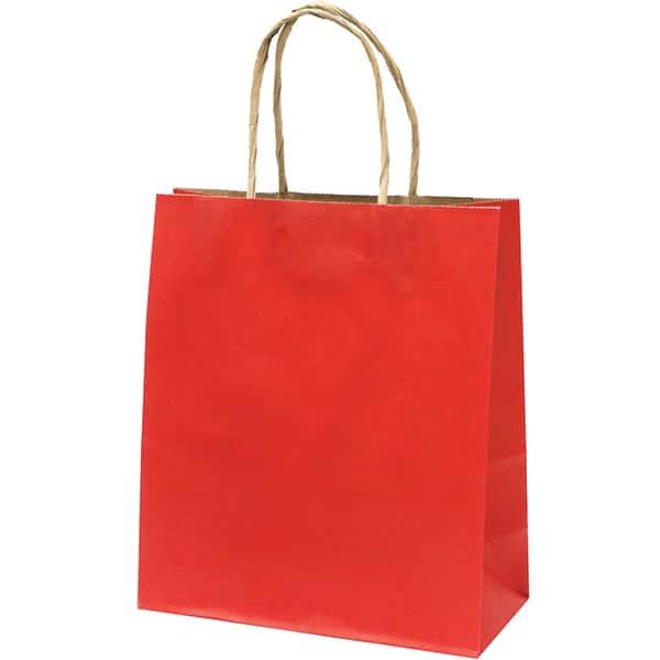 Punga cadou EUROCOM, 25 x 22 x 10 cm, carton, rosu
