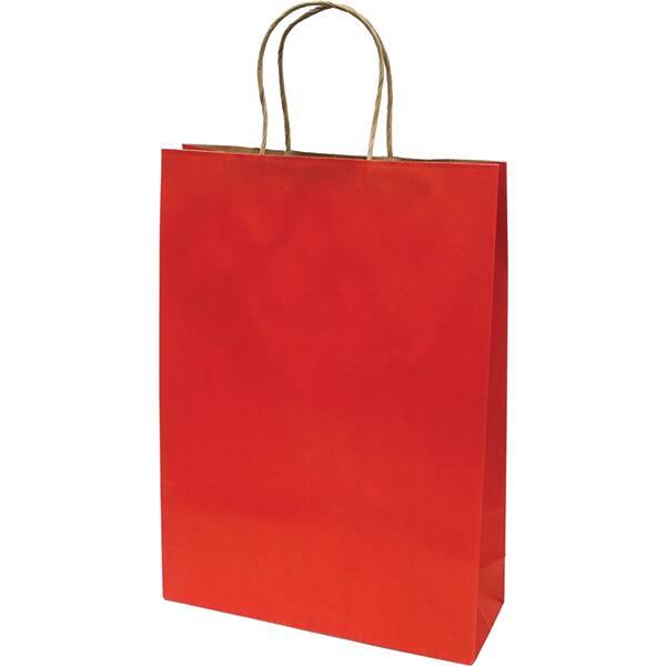 Punga cadou EUROCOM, 42 x 31 x 11 cm, carton, rosu