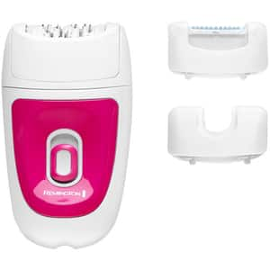 Epilator REMINGTON 3in1 Smooth&Silky EP3 EP7300, 2 viteze, retea, alb-roz