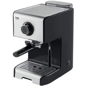 Espressor manual BEKO CEP5152B, 1.2l, 1200W, 15 bar, indicator luminos, negru-argintiu