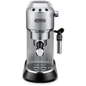 Espressor manual DE LONGHI Dedica Style EC 685.M, 1.1 l, 1350W, 15 bar, sistemul Cappuccino, argintiu
